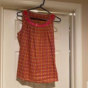 Tory Burch sleeveless blouse